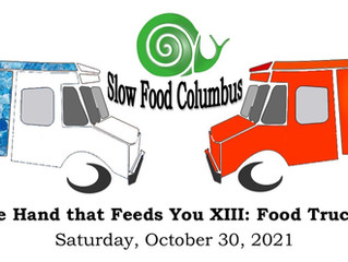 Slow Food Columbus is back with hosting our annual fundraiser, Shake the Hand that Feeds You!