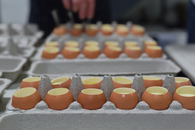 Eggs from Copia Farm