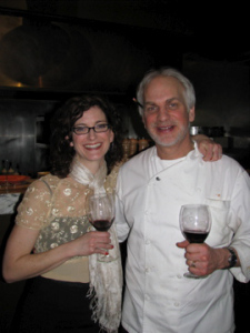 Colleen and Chef Rigsby