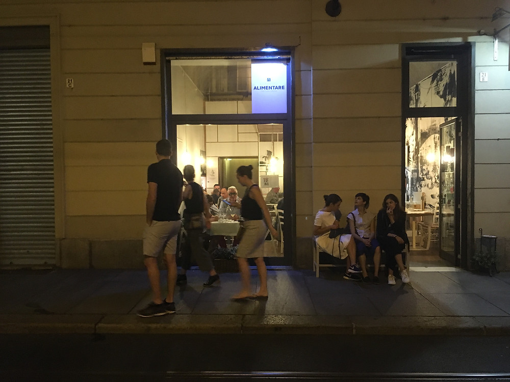 Dining at Alimentaire