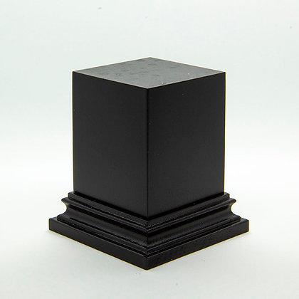 Wooden Display Plinth 40x40mm - BLACK