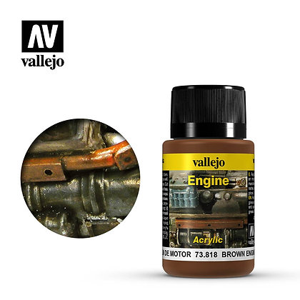 Brown Engine Soot