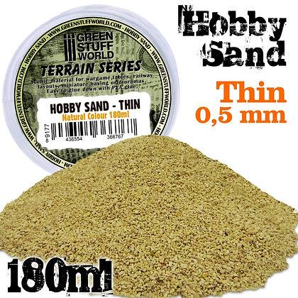 Fine Hobby Sand 180ml - Natural