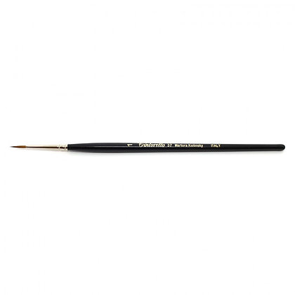 Tintoretto Serie 37 - Round brush, Size 1