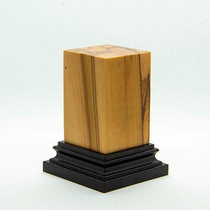 Wooden Display Plinth 30x30mm - ULIVO