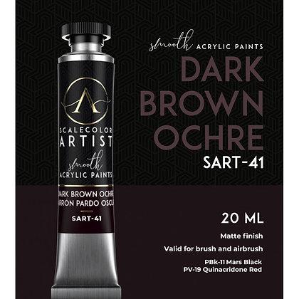 Dark Brown Ochre