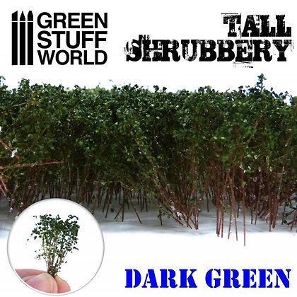 Tall Shrubbery - Dark Green