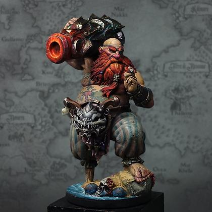 Faenir, Gunner of the Kraken