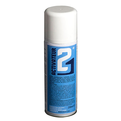 Activator21 Spray – 200ml – To speed up the glueing of Colle21