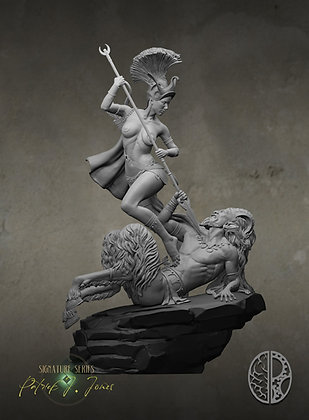 Artemis And The Satyr