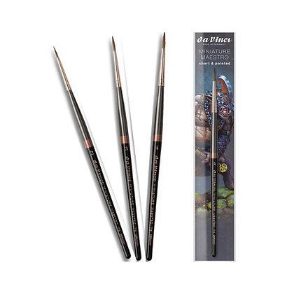 daVinci Miniature Maestro Series 76 - Short&Pointed, Size 2