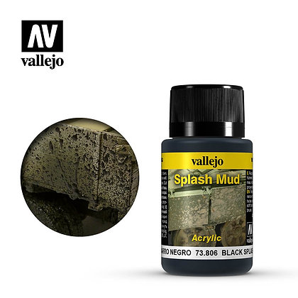Black Splash Mud