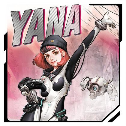 Yana Full figure version