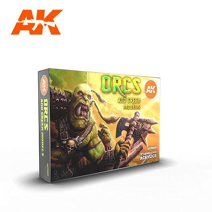 Orcs And Green Models