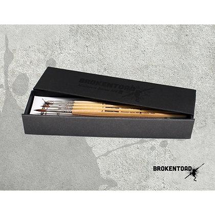 Miniature Series MK3 Brush Set