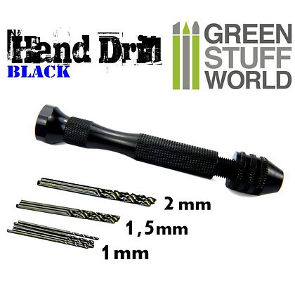 Hobby hand drill - BLACK color
