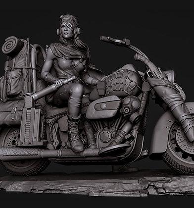 Road Girl Rat Bike