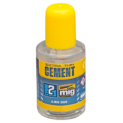 Extra Thin Cement Ammo Mig by Colle21