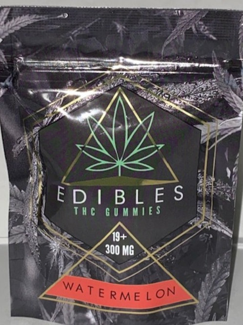 Watermelon THC Edibles 300MG