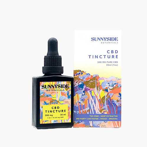 CBD Tincture - 600mg | 30ml THC FREE