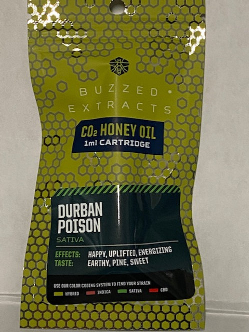 CO2 Honey Oil Vape Cart Durban Poison