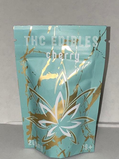 THC Edibles 200MG Cherry
