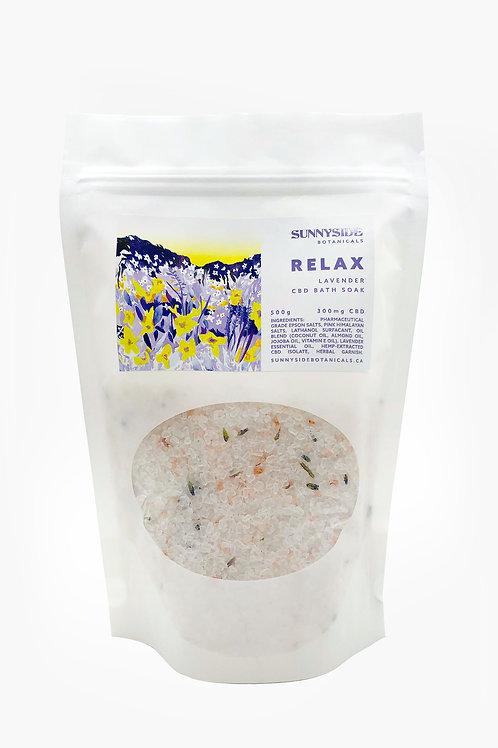 Bath Soak - Relax (Lavender) | 500g / 300mg CBD