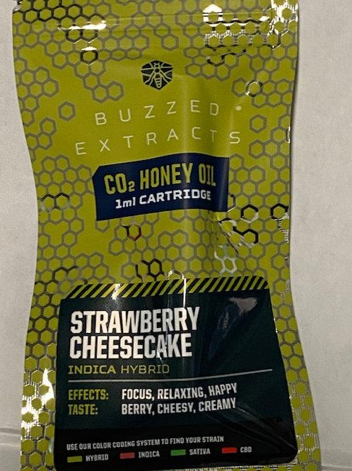 CO2 HoneyOil Vape Cart Strawberry Cheesecake