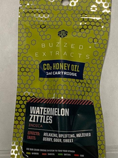 CO2 Honey Oil Vape Cart Watermelon Zittles