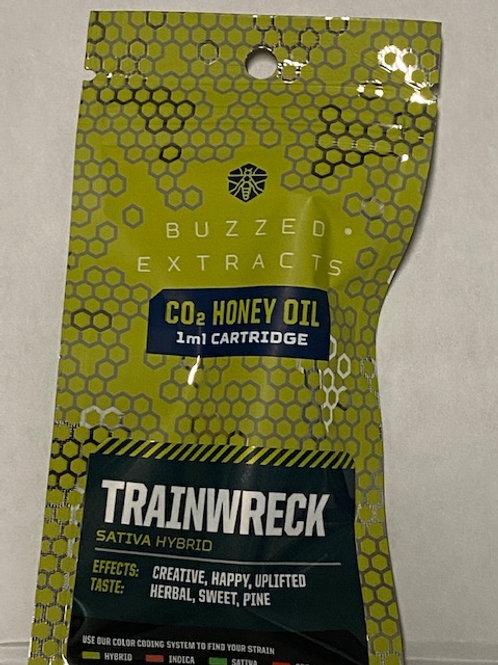 CO2 Honey Oil Vape Cart Trainwreck