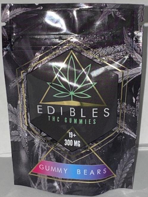 Gummy Bears THC Edibles 300MG