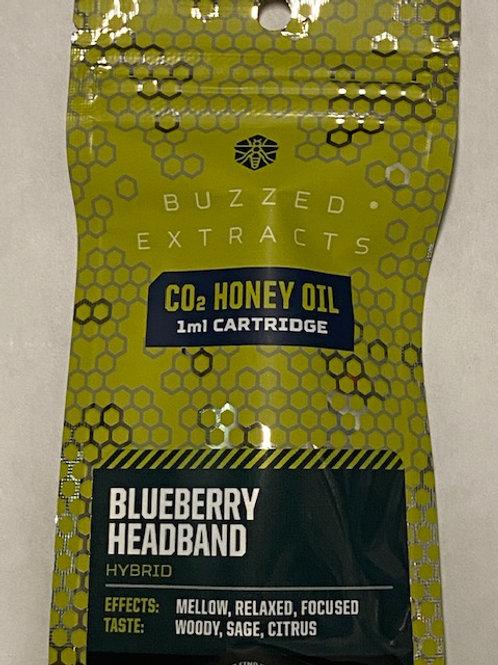 CO2 Honey Oil Vape Cart Blueberry Headband