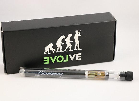 THC Vape Pen: EVOLVE Distillate Vape Pens 0.8 ML Blueberry