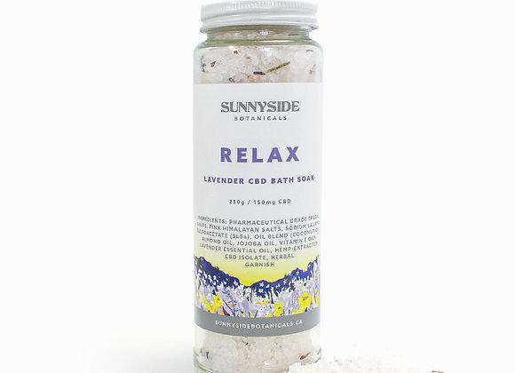 Bath Soak - Relax (Lavender) | 250g / 150mg CBD