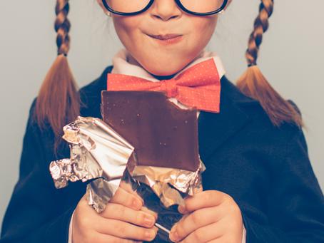 Culpa engorda e chocolate emagrece.