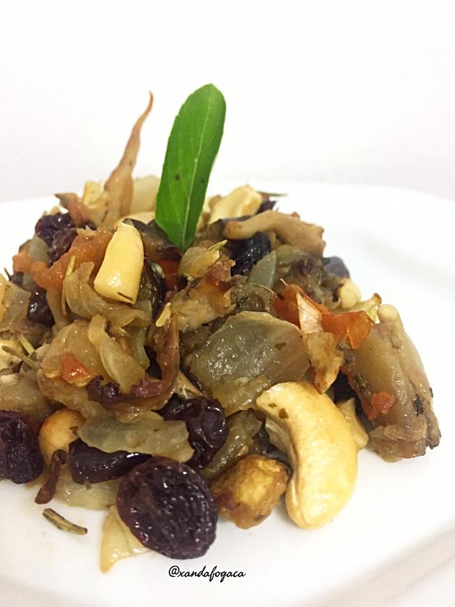 Ratatouille (berinjelas e tomates)