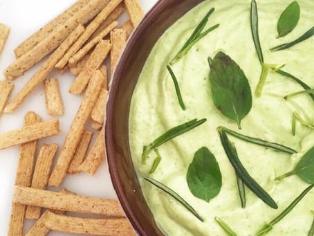 Requeijão de tofu e ervas