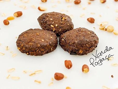 Biscoitinhos de amendoim e linhaça