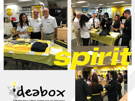 Ideabox shows off that SPIRIT...check out that swag!