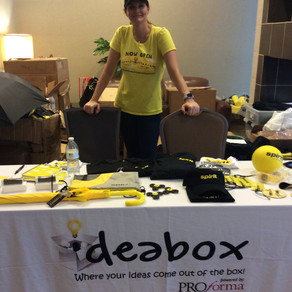 IdeaBox puts on a POP UP event at Spirit to get their SWAG ON!