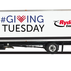 Ryder shows us how they do #GivingTuesday