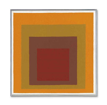 Josef Albers Study for Homage to the Square, 1973