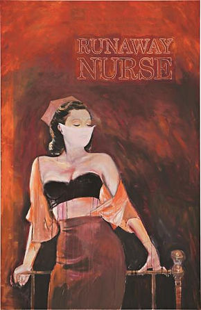 Richard Prince Runaway Nurse, 2006