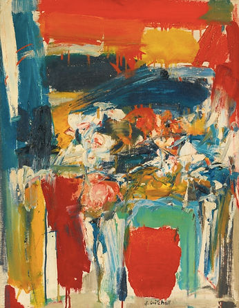 Joan Mitchell Untitled, 1955