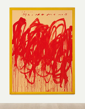 Cy Twombly Untitled (Bacchus 1st Version V), 2004
