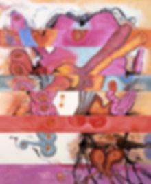 Carrol Dunham Horizontal Bands, 1982-83