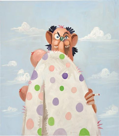 George Condo The Homeless Hobo, 2009