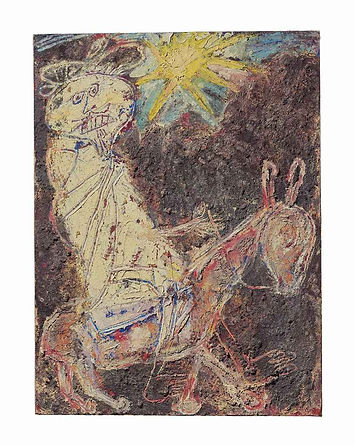 Bédouin sur l'âne (Bedouin on a donkey)
