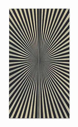 Mark Grotjahn Untitled (Creamsicle 865), 2010