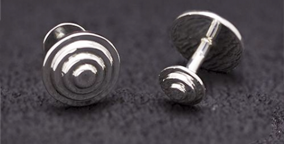STEPPED BUTTON MENS CUFF-LINKS